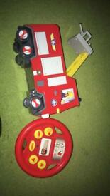 Drive and steer Fireman Sam Truck