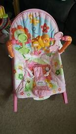 Fisher price baby to toddler bouncer rocker chair