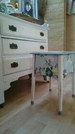 Dressing table stool /small table