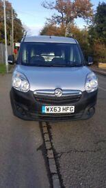 2013 63 Vauxhall Combo 1.3 CDTI MAXI LWB L2 H1 ECO FLEX Stop/Start 90 BHP Silver Van NO VAT