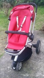 Quinny Buzz with Maxi cozy car seat convertors and brand new raincover £75 ONO