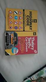 AA Car theory test book and highway code