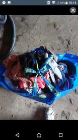 Large bag of women clothes