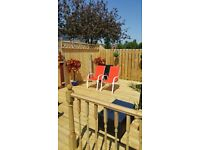 Decking, fencing, drives , patios , gravelling, concreting , dog runs , garden make overs