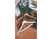 Free wooden hangers