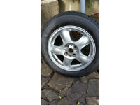 "Mini 15"" Alloy wheel+Tyre."