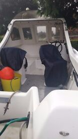 For sale is a 16ft Seag Samurai Fishing Boat. Exc condition with lots of extras. Reluctant Sale