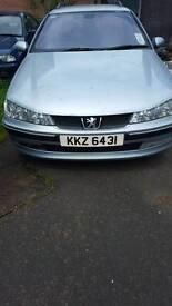 2003 Peugeot 406 diesel estate (6 months mot)