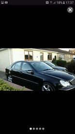 Mercedes c 200k very looked after manual top spec