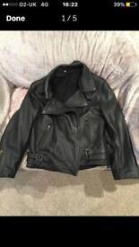 Leather jacket for sale (unisex)