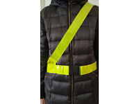 50x High Visibility Sam Browne Belt Reflective Hi Vis Yellow Cycling Motorbike Only £25 ono