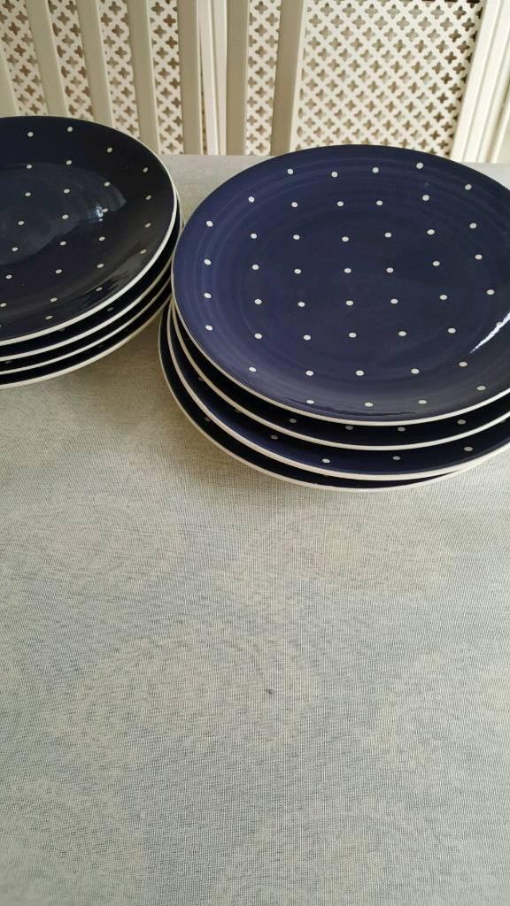 Dinner plates.