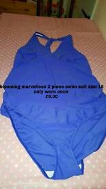 Blooming marvellous 2 piece swim suit