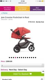 Joie Baby Crosster 3 wheeler pushchair