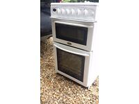 Belling Freestanding 50cm Gas cooker, 4 Hobs, 2 Oven compartments