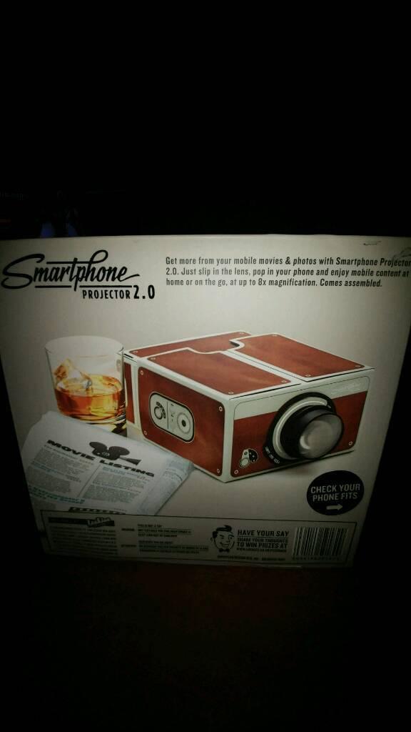 Smartphone Projector 2.0 - Brown