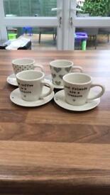 Brand new espresso set - from next