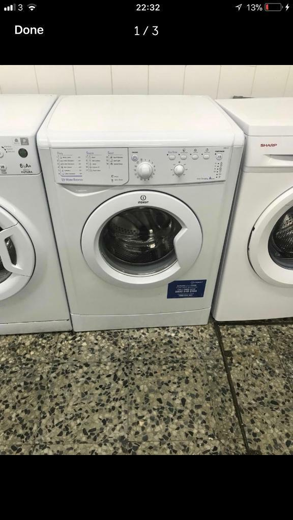 Indesit washing machine 6kg 1200rpm A+ 4 month warranty free delivery and installation