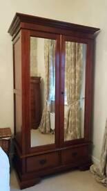 Solid walnut bedroom furniture