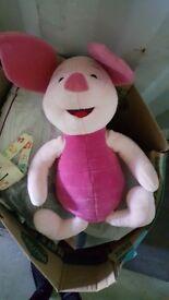 PINK PIGLET TEDDY