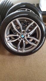 """Genuine BMW X4 2017 19"""" Msport Alloys"""