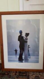3 Jack Vettriano framed prints