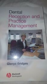 I am selling a book Dental reception and management of Glenys Bridge