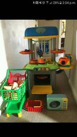 ELC cooker kids toy with lots of extras