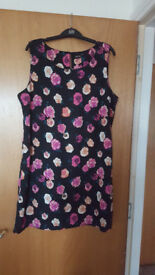Lovely ladies floral summer dress by Kushi. Bargain £2