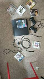 Ps3 with games 160gb CHECH - 3003A MODEL + 2X DUALSHOCK CONTROLLS