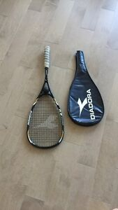 Squash Racket with case and ball