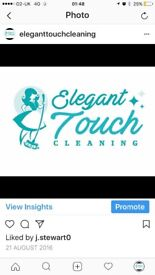 Elegant touch cleaning