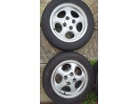 14 inches wheels and very good tyres MG, Vauxhall, Honda, Peugeot,