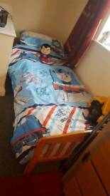 Wooden 3ft bed