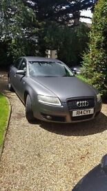 Audi A6 2005 matt grey 2.0 tdi