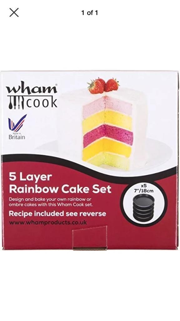 5 layer cake set