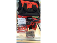 """SNAP ON CT8850 - 1/2"""" Drive Cordless Impact Wrench, 18V - 2 Lithium batteries"""