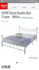 Darla Bed Frame White