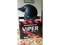 Viper open face helmet
