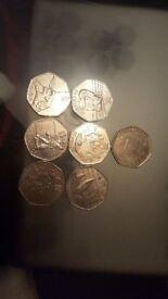 COLLECTABLE 50P COINS