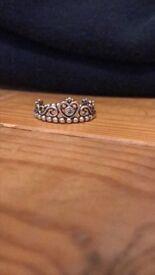Genuine Pandora Tiara Ring