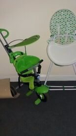 Toddler smart trike & High chair