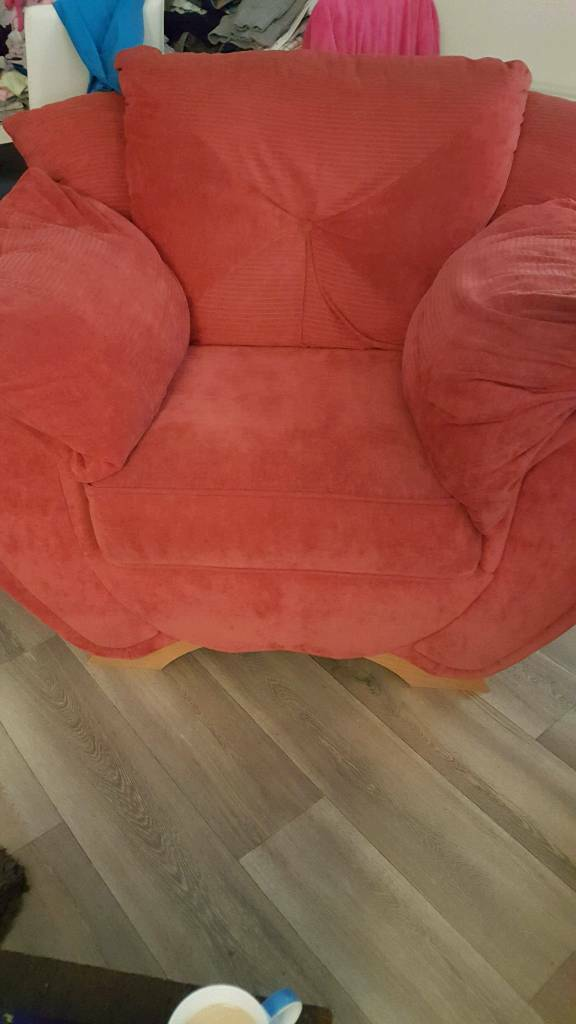 Sofa and chair ( money gose to charity)