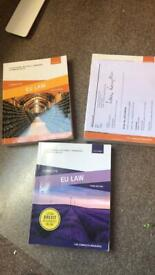 2nd year law books - EU law textbook