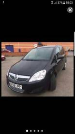 Vauxhall Zafira 1.7 CDTI ecoflex low mileage needs attention