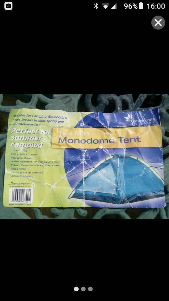 2 person deluxe monodome tent
