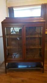 Antique chine display cabinet