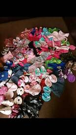 Build-a-bear clothing bundle