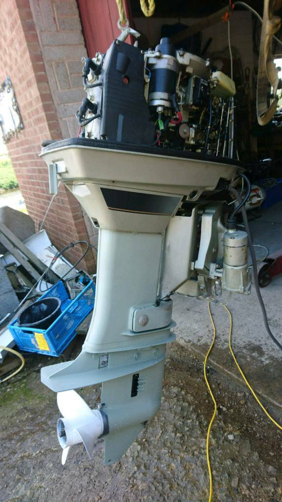 65 Hp Suzuki Outboard Motor