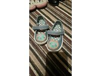 Infant size 4 girls shoes 6 pairs